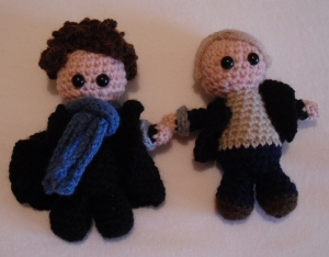 Crochet john and Sherlock