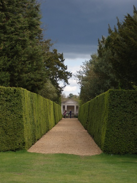 Ickworth Garden Temple - take a moment to reflect
