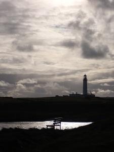 Lighthouse at Dusk, Islay, Scotland