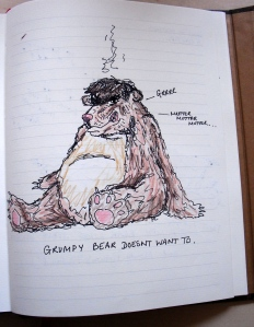 grumpy bear 1