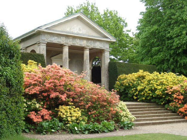 The garden house at Ickworth House, Suffolk