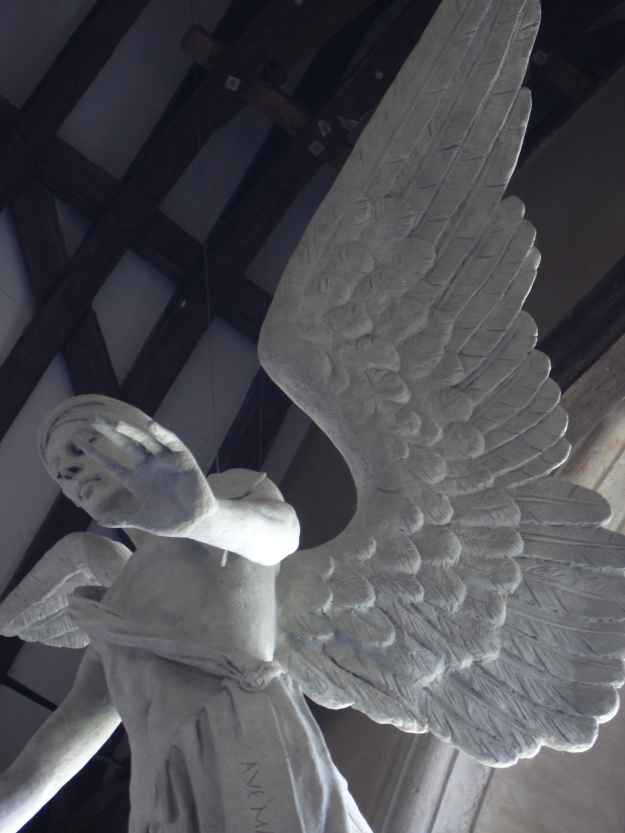 The Archangel Gabriel by Philip Jackson (2009), South Harting Church, Hampshire.