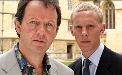 Kevin Whately and Laurence Fox in ITV's 'Lewis'