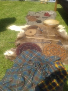 Handmade Scots artifacts reproduced by the craftsmen and women of GalGael.