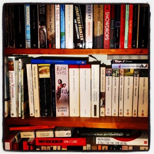 bookshelf instag