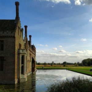 Oxburgh Hall:  The Moat
