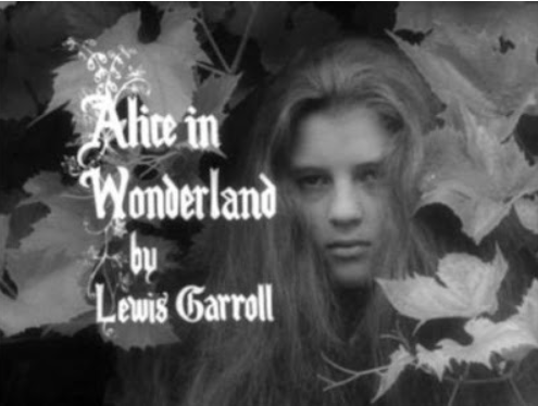 Jonothan Miller's BBC Alice in Wonderland, who looks decidedly vampirish!