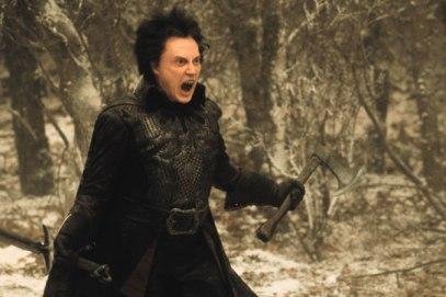 Christopher Walken as the Headless Horseman in 'Sleepy Hollow' (Burton, 1999).