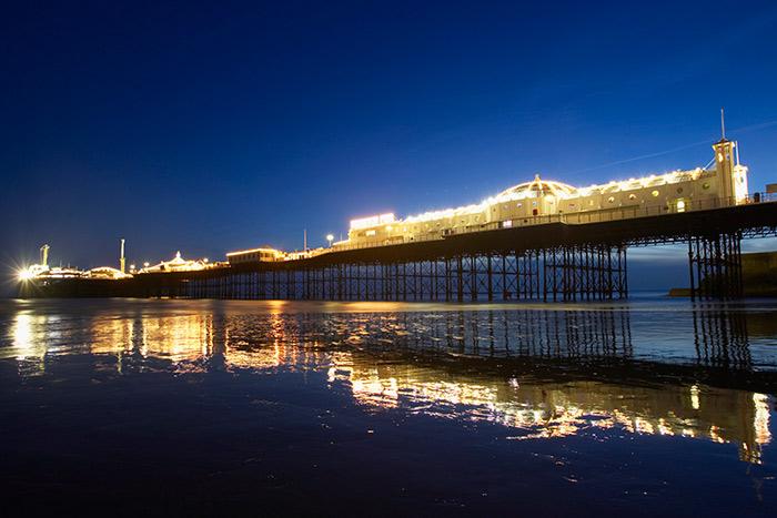Brighton-Pier-at-night