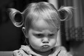 toddler sulk